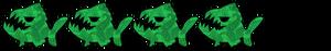 piranha stars green 4